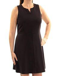 Kensie - Stetch Cepe Dress - Lyst