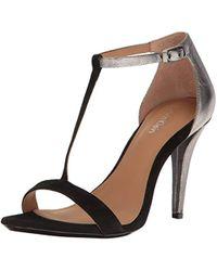 Calvin Klein - Nasi Heeled Sandal - Lyst