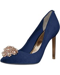 fdca16c8e Lyst - Ted Baker Peetch 2 Court Shoes in Blue