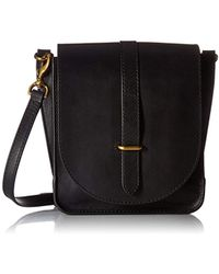 Frye - Ilana Crossbody Leather Messenger Bag - Lyst
