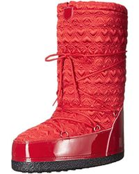 Love Moschino - Peace Moonboot Snow Boot - Lyst