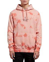 Volcom - Resist Pullover Fleece Hooded Sweatshirt - Lyst