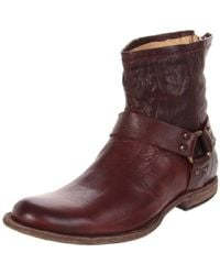 Frye - Phillip Harness Boot - Lyst