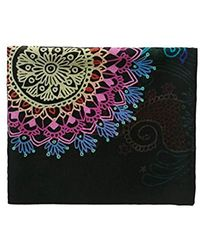 Desigual - Delilah Rectangle Mandala Print Foulard Scarf - Lyst