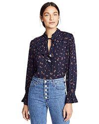 AG Jeans - Celeste Blouse - Lyst