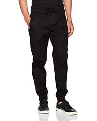 Armani Jeans - Plus Size Stretch Cotton Jogger With Drawstring - Lyst