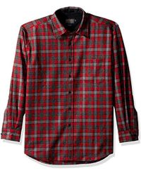 Pendleton - Long Sleeve Button Front Classic Lodge Shirt - Lyst