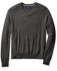 Buttoned Down - Cashmere V-neck Sweater - Lyst