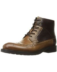 Kenneth Cole - Knock-out Combat Boot - Lyst