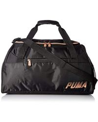 3d00bfd7f7 PUMA Active Training Women's Sports Duffle Bag in Black - Lyst