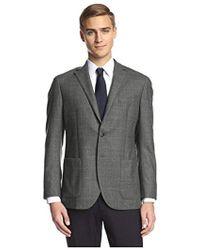 Franklin Tailored - Windowpane Sportcoat - Lyst