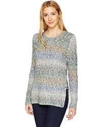 Lucky Brand - Side Lace Up Sweater - Lyst