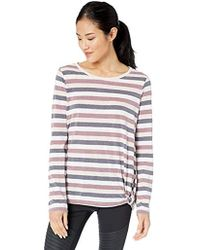 Marc New York - Washed Long Sleeve Stripe Faux Knot, - Lyst