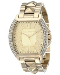 Vince Camuto - Quartz Stainless Steel Dress Watch, Color:gold-toned (model: Vc/5122chgb) - Lyst