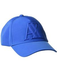 ddc3bed5b Armani Exchange Men's Dot Slouch Beanie in Blue for Men - Lyst