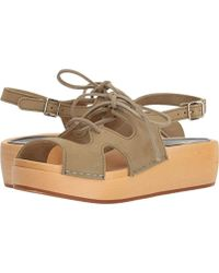 Swedish Hasbeens - Lace Up Sandal - Lyst