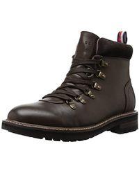 Tommy Hilfiger - Halex Combat Boot - Lyst