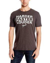 fd941c7f729f Lyst - Lucky Brand Fender Skull T Shirt in Black for Men