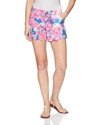 Lilly Pulitzer - Buttercup Stretch Short - Lyst
