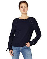Jessica Simpson - Kiana Lace Up Sweatshirt - Lyst