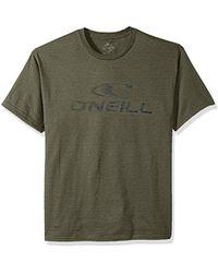 O'neill Sportswear - Modern Fit Logo Short Sleeve Tee - Lyst