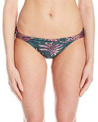 ViX - Leaves Bia Tube Full Coverage Bikini Bottom - Lyst