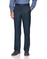 Amazon Essentials - Expandable Waist Classic-fit Flat-front Dress Pants, - Lyst