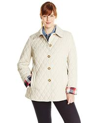 Tommy Hilfiger - Plus-size Classic Quilted Jacket - Lyst