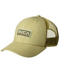 best website 7e760 c8778 RVCA Ticket Trucker in Black for Men - Lyst