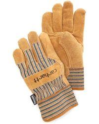 Carhartt - Insulated Suede Work Glove With Safety Cuff - Lyst