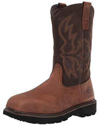 Dickies - Stockyard Pull On Steel Toe Eh Construction Boot - Lyst