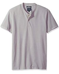 Lucky Brand - Coolmax Bomber Polo Tee Shirt - Lyst