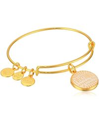 ALEX AND ANI - S Words Are Powerful - Everything Happens A Reason Ii Bangle - Lyst