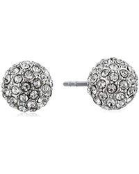 Rebecca Minkoff - Crystal Ball Stud Ball Earrings - Lyst