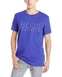BOSS - Upf 50+ Swim Shirt - Lyst
