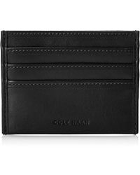 Cole Haan - Veg Leather East West Credit Card Holder - Lyst
