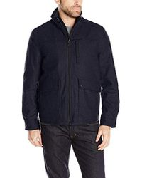 Nautica - Wool Melton Jacket - Lyst