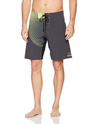 Reebok - 4 Way Stretch Printed Board Short, - Lyst