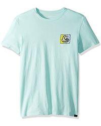 Quiksilver - Neon Scratch Ss Tee T-shirt - Lyst