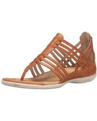 c2a186f82 Lyst - Havaianas Flash Anklewrap Thong Sandal in Black