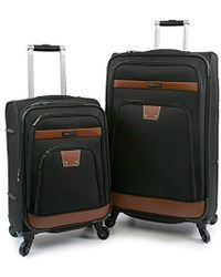 Perry Ellis - Premise Expandable Rolling Spinner Fashion Designer Travel Luggage Set - Lyst