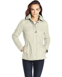 Tommy Hilfiger - Hooded Quilted Jacket - Lyst