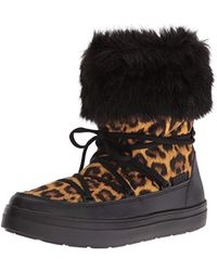Crocs™ - Lodge Point Lace Snow Boot - Lyst
