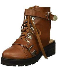 N.y.l.a. - Bracen Combat Boot - Lyst