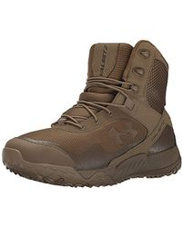 Under Armour Valsetz Rts 4e Military And Tactical Boot, Black - Brown