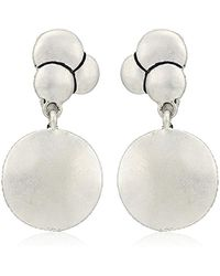The Sak - Layered Double Drop Clip-on Earrings - Lyst