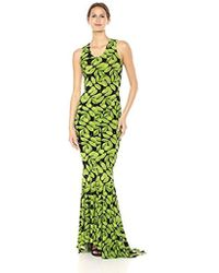 Norma Kamali - Racer Fishtail Gown - Lyst