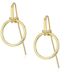 Noir Jewelry - Dock Earrings - Lyst