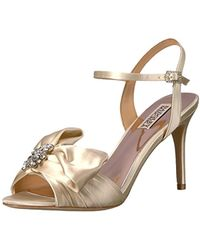 Badgley Mischka - Samantha Heeled Sandal - Lyst