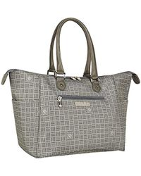 30c48df74f70 Lyst - Chanel Python Perfect Day Bag Silver in Metallic